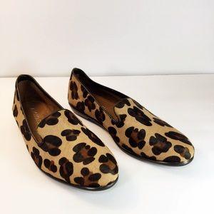 88c0c6ae7751 AEROSOLES Shoes | Betunia Leopard Print Leather Loafers | Poshmark